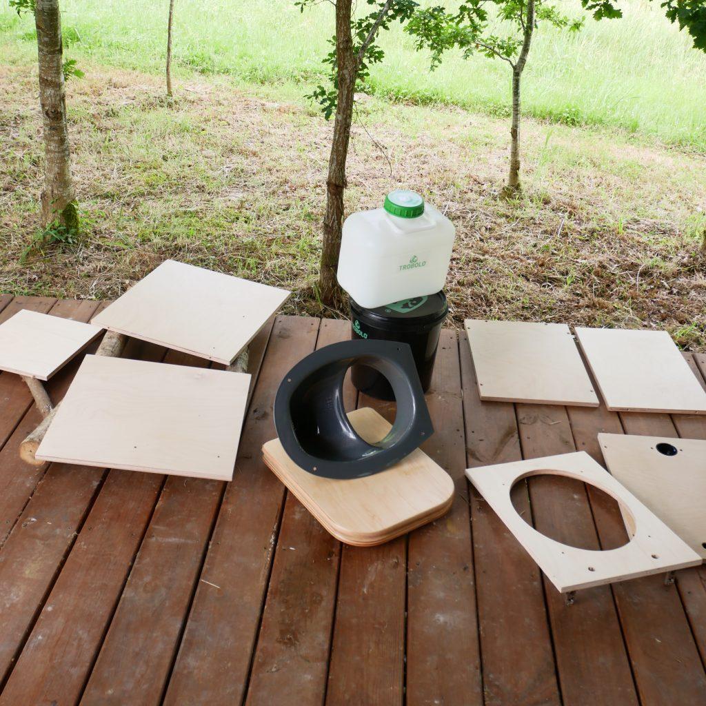 kit toilettes sèches